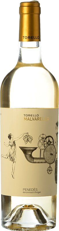 8,95 € Free Shipping | White wine Torelló Malvarel·lo D.O. Penedès Catalonia Spain Bottle 75 cl