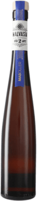 15,95 € Envío gratis | Vino blanco Mas Oller Malvasia de Sitges D.O. Empordà Cataluña España Malvasía de Sitges Media Botella 37 cl