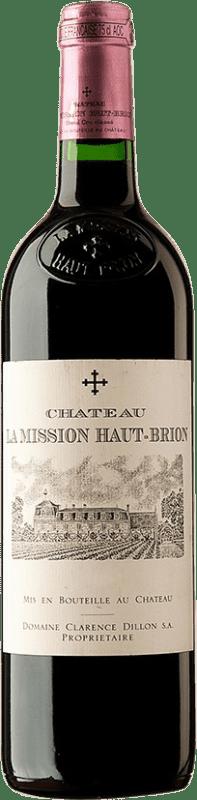 395,95 € Free Shipping | Red wine Château La Mission Haut-Brion 2001 A.O.C. Bordeaux Bordeaux France Merlot, Cabernet Sauvignon, Cabernet Franc Bottle 75 cl