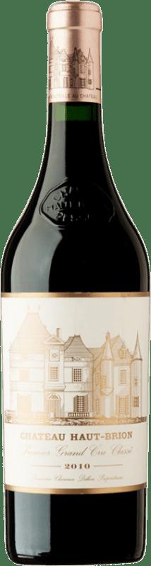 1 588,95 € Free Shipping | Red wine Château Haut-Brion 2010 A.O.C. Pessac-Léognan Bordeaux France Merlot, Cabernet Sauvignon, Cabernet Franc Bottle 75 cl