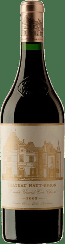 1 273,95 € Free Shipping | Red wine Château Haut-Brion 2005 A.O.C. Pessac-Léognan Bordeaux France Merlot, Cabernet Sauvignon, Cabernet Franc Bottle 75 cl