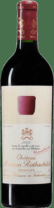691,95 € | Red wine Château Mouton-Rothschild A.O.C. Pauillac Bordeaux France Merlot, Cabernet Sauvignon, Cabernet Franc Bottle 75 cl
