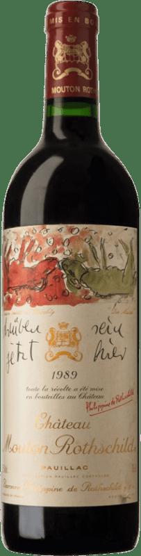 841,95 € | Red wine Château Mouton-Rothschild 1989 A.O.C. Pauillac Bordeaux France Merlot, Cabernet Sauvignon, Cabernet Franc Bottle 75 cl