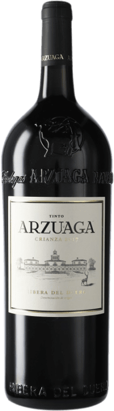 51,95 € | Red wine Arzuaga Crianza D.O. Ribera del Duero Castilla y León Spain Magnum Bottle 1,5 L