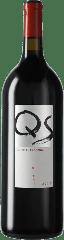 67,95 € Envío gratis | Vino tinto Quinta Sardonia I.G.P. Vino de la Tierra de Castilla y León Castilla y León España Tempranillo, Merlot, Cabernet Sauvignon Botella Mágnum 1,5 L