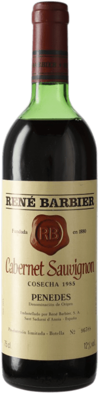 11,95 € Free Shipping | Red wine René Barbier D.O. Penedès Catalonia Spain Cabernet Sauvignon Bottle 75 cl