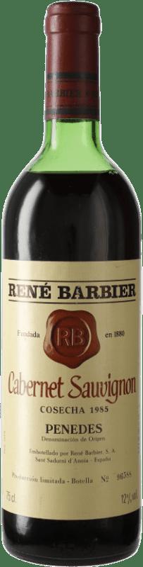 11,95 € Envío gratis | Vino tinto René Barbier D.O. Penedès Cataluña España Cabernet Sauvignon Botella 75 cl