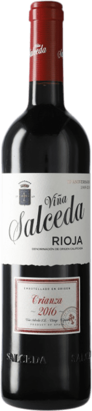 8,95 € Envoi gratuit   Vin rouge Viña Salceda Crianza D.O.Ca. Rioja Espagne Tempranillo, Graciano, Mazuelo Bouteille 75 cl