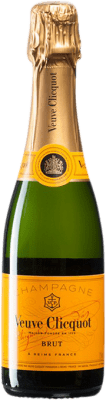 32,95 € | White sparkling Veuve Clicquot Brut A.O.C. Champagne Champagne France Pinot Black, Chardonnay, Pinot Meunier Half Bottle 37 cl