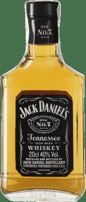 9,95 € Envoi gratuit | Bourbon Jack Daniel's Tennessee États Unis Petite Bouteille 20 cl