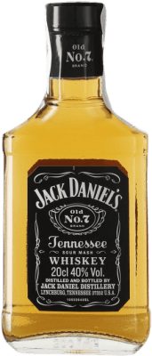 9,95 € 免费送货   波旁酒 Jack Daniel's 田纳西 美国 小瓶 20 cl