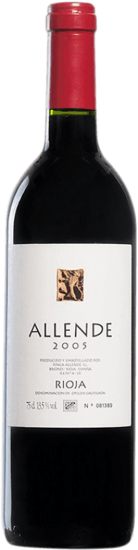 59,95 € | Red wine Allende 2005 D.O.Ca. Rioja Spain Tempranillo Bottle 75 cl