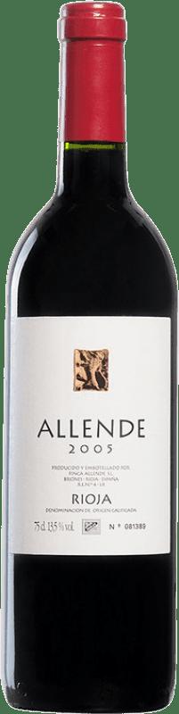 59,95 € Envío gratis | Vino tinto Allende 2005 D.O.Ca. Rioja España Tempranillo Botella 75 cl