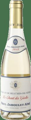 16,95 € Envío gratis | Vino blanco Jaboulet Aîné A.O.C. Beaumes de Venise Francia Moscatel Media Botella 37 cl