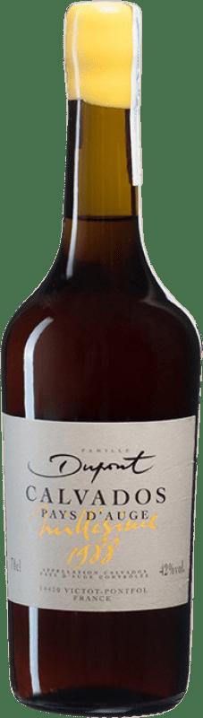 192,95 € Envío gratis | Calvados Domaine Dupont I.G.P. Calvados Pays d'Auge Francia Botella 70 cl