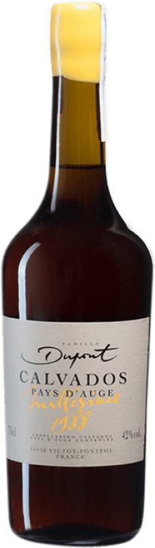 192,95 € 免费送货 | 卡尔瓦多斯 Domaine Dupont I.G.P. Calvados Pays d'Auge 法国 瓶子 70 cl