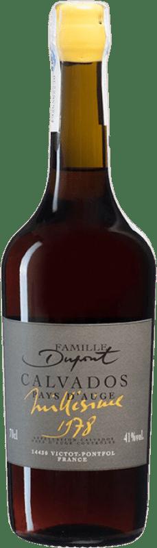 258,95 € Envío gratis | Calvados Domaine Dupont I.G.P. Calvados Pays d'Auge Francia Botella 70 cl