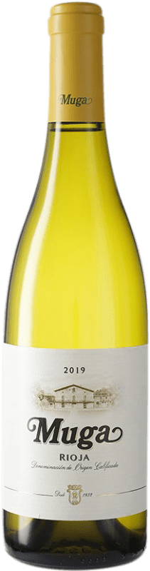 9,95 € Free Shipping | White wine Muga D.O.Ca. Rioja Spain Viura, Malvasía, Grenache White Bottle 75 cl