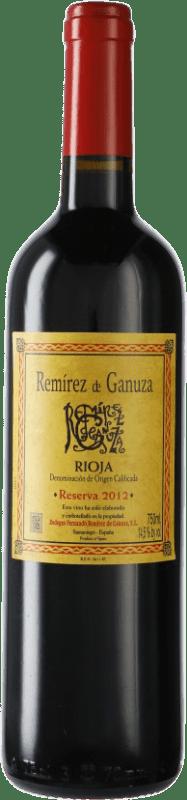 61,95 € 免费送货 | 红酒 Remírez de Ganuza Reserva D.O.Ca. Rioja 西班牙 瓶子 75 cl