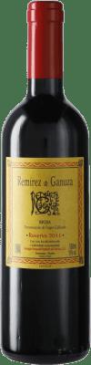 39,95 € Envoi gratuit | Vin rouge Remírez de Ganuza Reserva D.O.Ca. Rioja Espagne Tempranillo, Graciano, Viura, Malvasía Bouteille Medium 50 cl