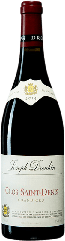 222,95 € Free Shipping | Red wine Drouhin A.O.C. Clos Saint-Denis Burgundy France Pinot Black Bottle 75 cl