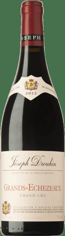 554,95 € 免费送货 | 红酒 Drouhin A.O.C. Grands Échezeaux 勃艮第 法国 Pinot Black 瓶子 75 cl