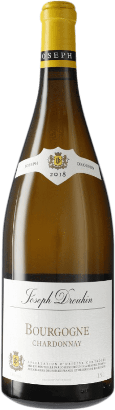 31,95 € Free Shipping | White wine Drouhin A.O.C. Bourgogne Burgundy France Chardonnay Magnum Bottle 1,5 L