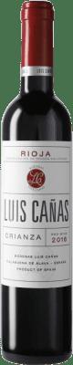 7,95 € 免费送货   红酒 Luis Cañas Crianza D.O.Ca. Rioja 西班牙 Tempranillo, Graciano 瓶子 Medium 50 cl