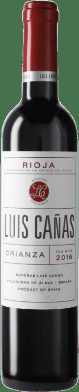 7,95 € Free Shipping   Red wine Luis Cañas Crianza D.O.Ca. Rioja Spain Tempranillo, Graciano Medium Bottle 50 cl