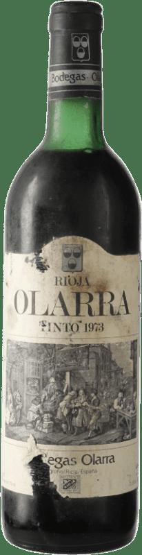 34,95 € Envoi gratuit | Vin rouge Olarra D.O.Ca. Rioja Espagne Tempranillo, Graciano, Mazuelo Bouteille 72 cl