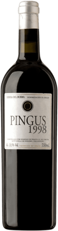2 122,95 € | Red wine Dominio de Pingus 1998 D.O. Ribera del Duero Castilla y León Spain Tempranillo Bottle 75 cl