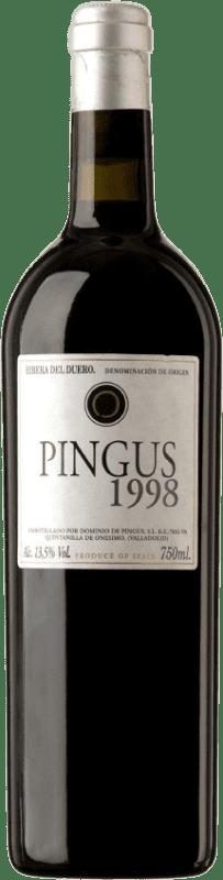 1 435,95 € Envoi gratuit | Vin rouge Dominio de Pingus 1998 D.O. Ribera del Duero Castille et Leon Espagne Tempranillo Bouteille 75 cl
