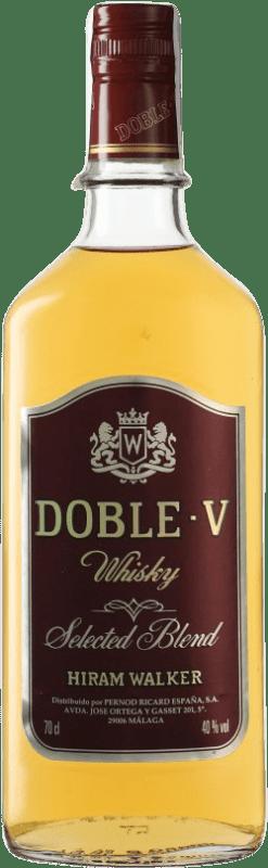 10,95 € Free Shipping | Whisky Blended Hiram Walker Spain Bottle 70 cl