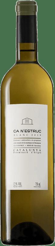 4,95 € 免费送货   白酒 Ca N'Estruc D.O. Catalunya 加泰罗尼亚 西班牙 Grenache White, Muscatel, Macabeo, Xarel·lo 瓶子 75 cl