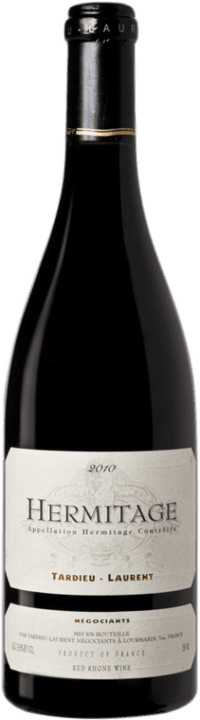 122,95 € Free Shipping | Red wine Tardieu-Laurent 2010 A.O.C. Hermitage France Syrah, Serine Bottle 75 cl