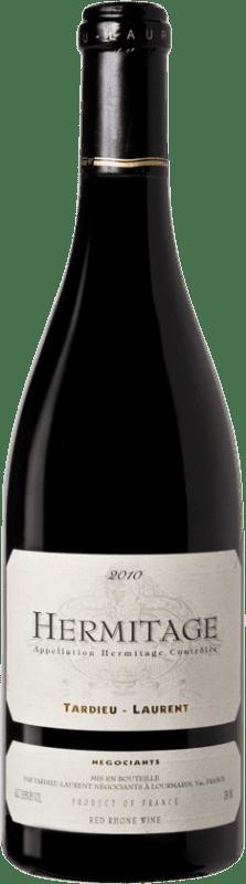 122,95 € | Red wine Tardieu-Laurent 2010 A.O.C. Hermitage France Syrah, Serine Bottle 75 cl