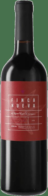 16,95 € Envoi gratuit | Vin rouge Finca Nueva Reserva D.O.Ca. Rioja Espagne Tempranillo Bouteille 75 cl
