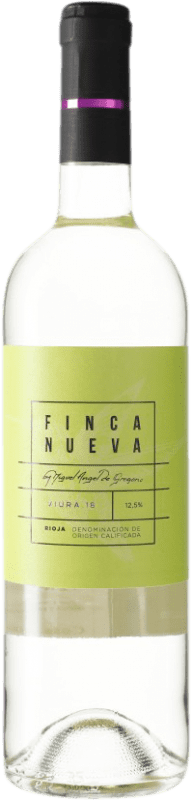 6,95 € Envoi gratuit | Vin blanc Finca Nueva D.O.Ca. Rioja Espagne Viura Bouteille 75 cl