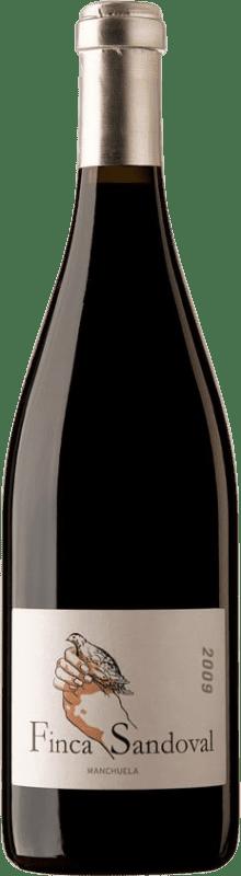 26,95 € Free Shipping | Red wine Finca Sandoval D.O. Manchuela Castilla la Mancha Spain Syrah, Monastrell, Bobal Bottle 75 cl