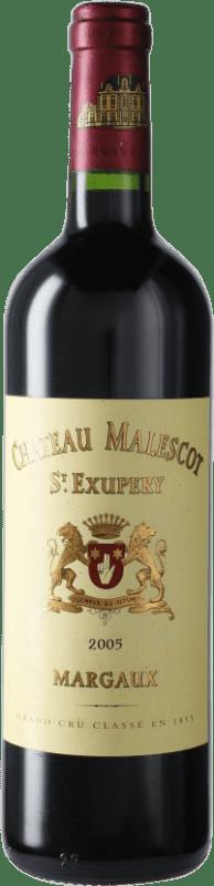 197,95 € | Red wine Château Malescot Saint-Exupéry 2005 A.O.C. Margaux Bordeaux France Merlot, Cabernet Sauvignon, Cabernet Franc, Petit Verdot Bottle 75 cl