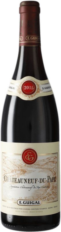 56,95 € Free Shipping | Red wine Domaine E. Guigal A.O.C. Châteauneuf-du-Pape France Syrah, Grenache, Mourvèdre Bottle 75 cl