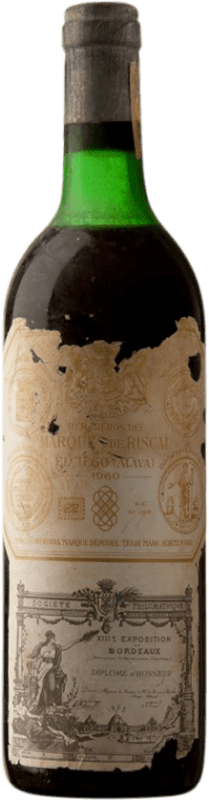 219,95 € Envoi gratuit   Vin rouge Marqués de Riscal Reserva 1960 D.O.Ca. Rioja Espagne Tempranillo, Graciano, Mazuelo Bouteille 75 cl