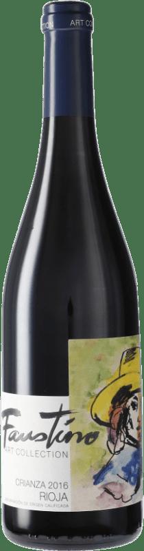 5,95 € Envoi gratuit   Vin rouge Faustino Crianza D.O.Ca. Rioja Espagne Tempranillo Bouteille 75 cl