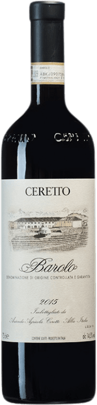 61,95 € Free Shipping | Red wine Ceretto D.O.C.G. Barolo Piemonte Italy Nebbiolo Bottle 75 cl