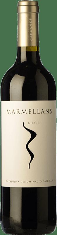 5,95 € Envío gratis | Vino tinto Capçanes Marmellans Negre Joven D.O. Montsant Cataluña España Garnacha, Cabernet Sauvignon, Cariñena Botella 75 cl