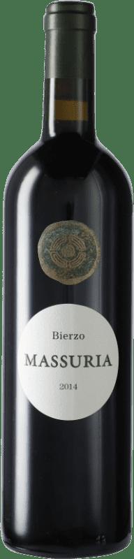 19,95 € Free Shipping | Red wine Más Asturias Massuria D.O. Bierzo Castilla y León Spain Mencía Bottle 75 cl
