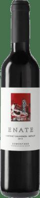 5,95 € 免费送货 | 红酒 Enate Merlot-Cabernet Sauvignon D.O. Somontano 加泰罗尼亚 西班牙 Merlot, Cabernet Sauvignon 瓶子 Medium 50 cl