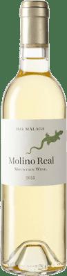 39,95 € Envío gratis | Vino blanco Telmo Rodríguez Molino Real D.O. Sierras de Málaga España Moscatel Botella Medium 50 cl