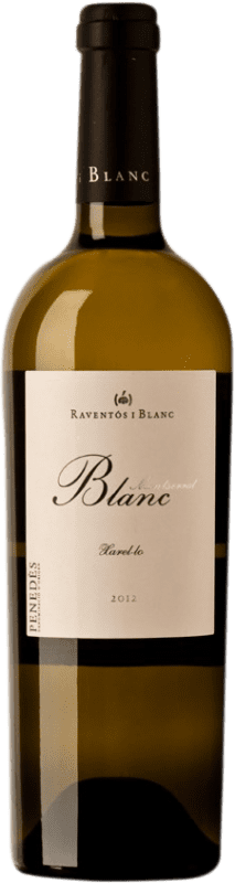 24,95 € Free Shipping | White wine Raventós i Blanc Montserrat D.O. Penedès Catalonia Spain Xarel·lo Bottle 75 cl
