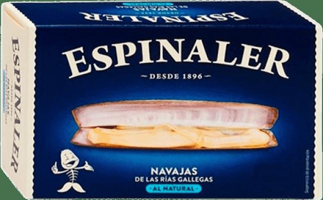 9,95 € Envoi gratuit | Conservas de Marisco Espinaler Navajas al Natural Espagne 6/8 Pièces